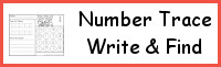 Number: Trace, Write & Find the Number
