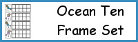 Ocean Ten Frame Set