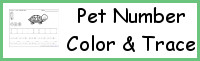 Pet Number Color & Trace