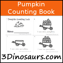 Pumpking Counting Book