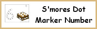 S'mores Number Dot Marker & Counting