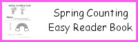 Spring Number Counting Book