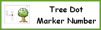Tree Number Dot Marker & Counting