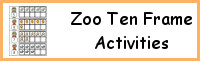 Zoo Ten Frame Activities (1-20)