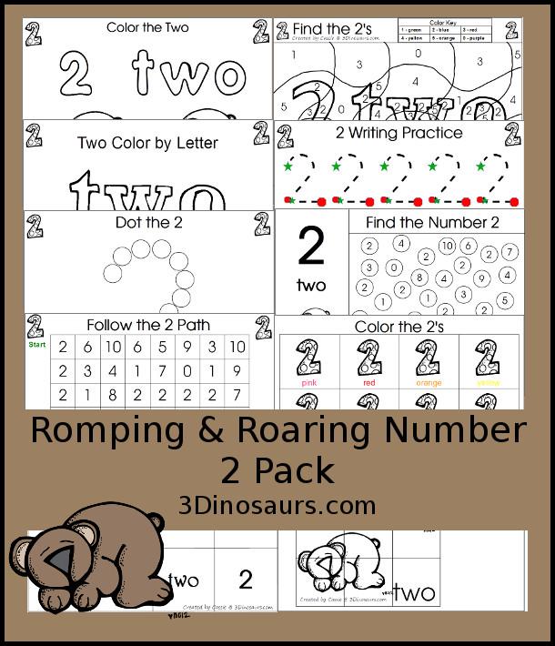 Romping & Roaring 2 Pack