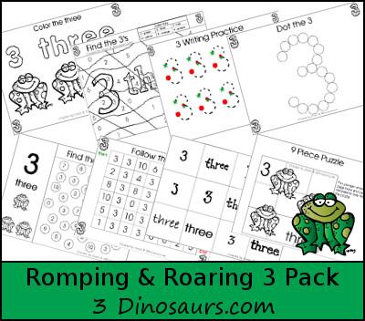 Romping & Roaring 3 Pack
