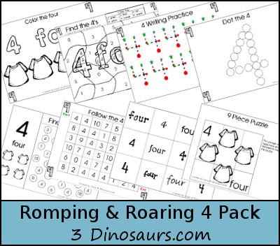 Romping & Roaring 4 Pack