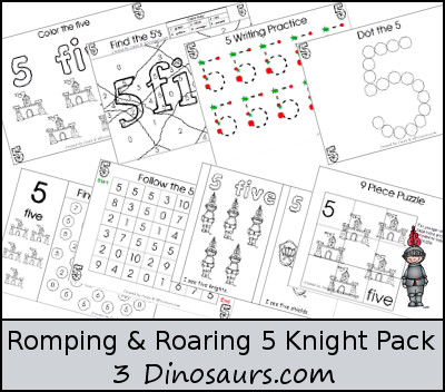 Romping & Roaring Number 5 Knight Theme Pack