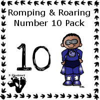 Romping & Roaring Ten Super Hero Pack