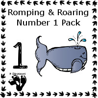 The All New Romping & Roaring Number Packs!