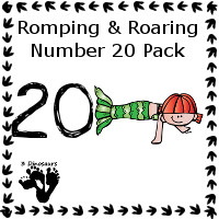 Romping & Roaring Twenty Mermaid Pack