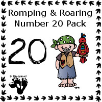 Romping & Roaring Twenty Pirate Pack