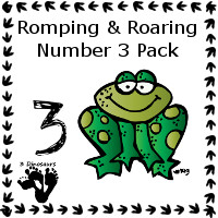 Free Romping & Roaring Number 3 Pack