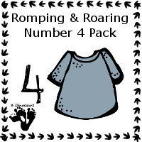 Free Romping & Roaring Number 4 Pack