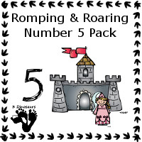 Romping & Roaring Five Princess Pack