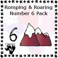 Romping & Roaring Number 6 Pack