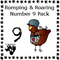 Free Romping & Roaring Number 9 Pack