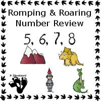 Romping & Roaring Review 5, 6, 7, 8 with Knight Theme Pack