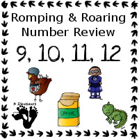 Romping & Roaring Number 9, 10, 11, 12 Review Pack Set 1