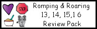 Romping & Roaring Number 13, 14, 15, 16 Review Pack (with Baking Theme)