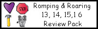 Romping & Roaring Number 13, 14, 15, 16 Review Pack (with Tools Theme)