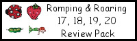 Romping & Roaring Number 17, 18, 19, 20 Review Pack (with Mermaid Theme)