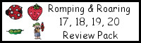 Romping & Roaring Number 17, 18, 19, 20 Review Pack (with Pirate Theme)