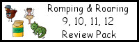 Romping & Roaring Number 9,10,11,12 Review Pack (with Fairy Theme)