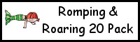 Romping & Roaring 20 Mermaid Pack