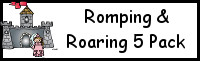 Romping & Roaring 5 Princess Pack