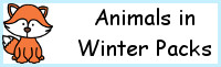 Animals In Winter Pack