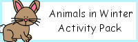 Animals in Winter Activity Pack
