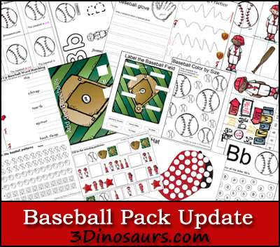 Baseball Update Printables