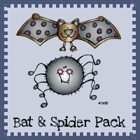 Bat & Spider Pack - 3Dinosaurs.com