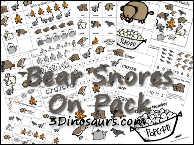 Bear Snores On Printables