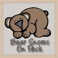Bear Snores On Pack