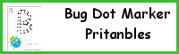 Bug Dot Marker Printables