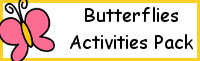Butterfly Activities Pack