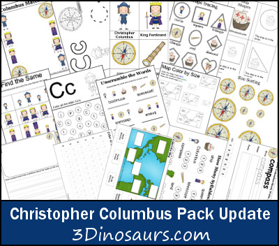 Christopher Columbus Printables