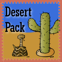 Free Desert Pack for ages 2 to 9 - 3Dinosaurs.com