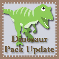 Free Dinosaur Pack Update!
