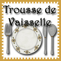Dishes Printables in French