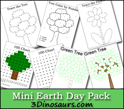 Mini Earth Day Printables