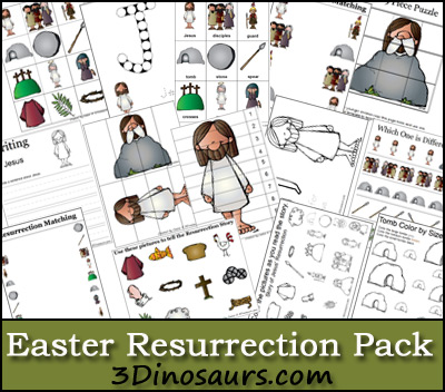 free easter homeschool printables