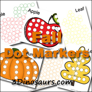 Fall Pack Extra: Dot Markers