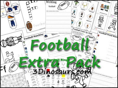 Football Extra Printables