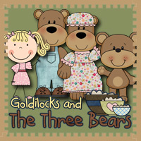 Free Goldilocks & The Three Bears Pack - 3Dinosaurs.com