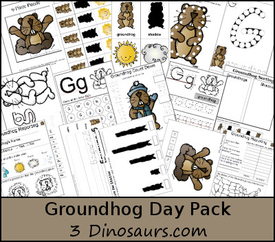 Free Groundhogs Day Pack