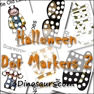 >Halloween Pack Extra 2: Dot Marker Pages