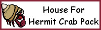 House for Hermit Crab Pack